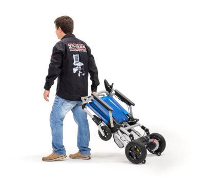 silla de ruedas eléctrica Joytec plegada