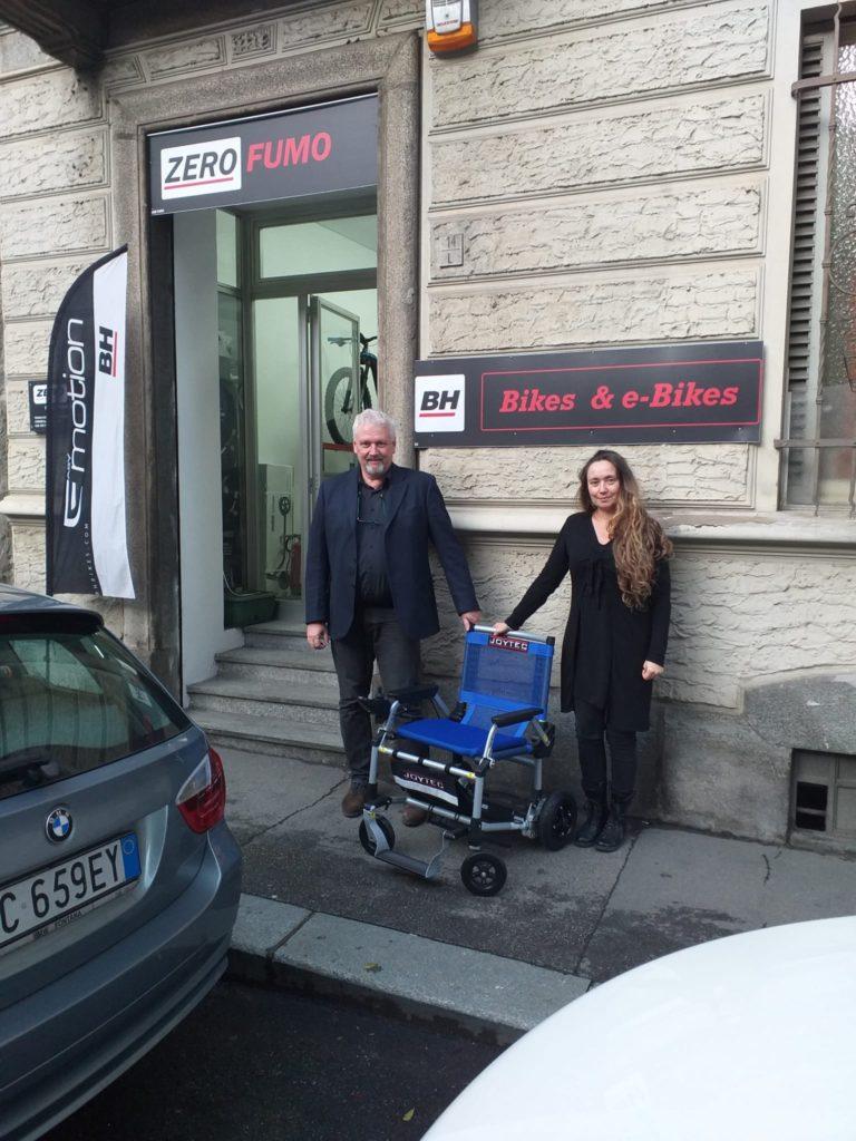 Punti vendita della sedia a rotelle elettrica Joytec ...