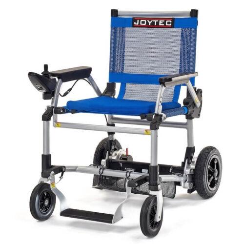Joytec, la sedia a rotelle elettrica con joystick più leggera e più facile da piegare