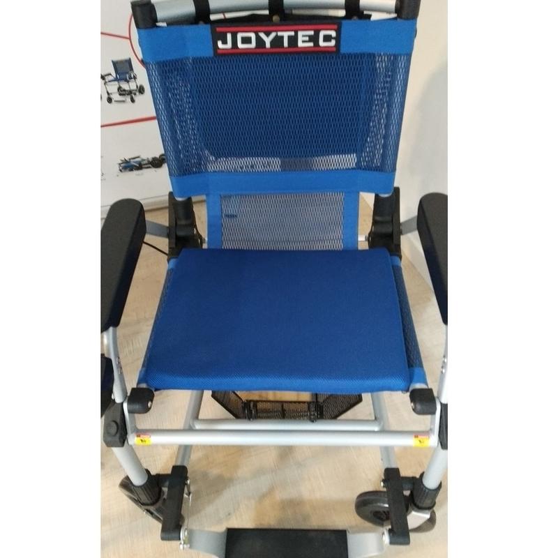 Sedia a rotelle elettrica Joytec da esposizione Roma ...